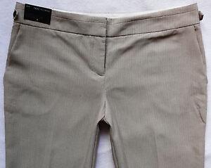 BNWT NEXT ladies beige TAILORED slouch wide leg work office smart trousers 16 R