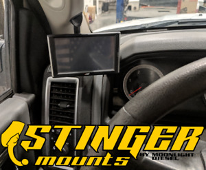 Stinger Mounts A pillar mount for insight cts2 cts3 fits 2010-2018 Dodge RAM