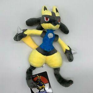"Sun/Moon Shiny Lucario Plush Soft Toy Doll Stuffed Teddy 12"""