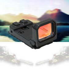 3 MOA   Red Dot Sight Scope 1X Holographic Reflex Flip Up Scope fit 20mm