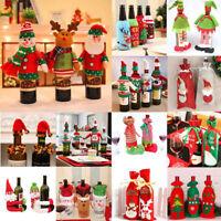 Cute Santa Pants Christmas Candy Bags Wine Stocking Bottle Gift Bag Xmas Decor