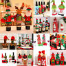 Cute Santa Pants Christmas Candy Bags Wine Stocking Bottle Gift Bag Xmas Decor