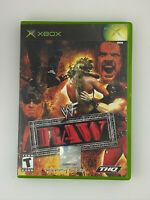 WWF Raw - Original Xbox Game - Tested