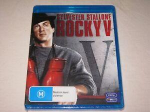 Rocky V - Sylvester Stallone - Brand New & Sealed - Region B - Blu Ray