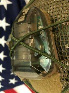 HEL-STAR 6 GIII Helmet Mounted LED Marker Strobe green white & I.R hel star 6
