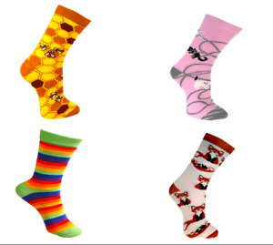 Eco Friendly Fairtrade Bamboo Socks, 25 Designs in Two Sizes, Mens and Womens