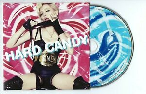 MADONNA : HARD CANDY ♦ Limited Edition Album ♦ 4 MINUTES, GIVE IT TO ME