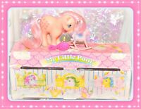 ❤️My Little Pony G1 Vtg ITALIAN Italy Carry Case Stable Peachy Mon Petit Poney❤️