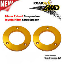 2 x Toyota Hilux Kun Strut Spacer 1'' 20mm Lift Kit Kun26R Suspension Pair