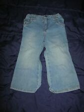 Children's Place 24 Mos Distressed Stretch Flare Blue Jeans
