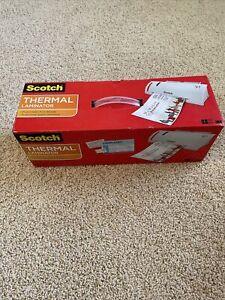 Scotch 3M Thermal Laminator W/20 Pouches