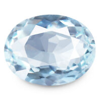 Aquamarine 2.16ct Flawless rare rich blue color 100% natural earth mined India