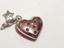 Tingle Charm Heart SCH145 Sterling Silver rrp £35
