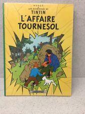 HERGE CASTERMAN TINTIN L'AFFAIRE TOURNESOL 1984