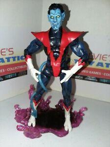 "RARE! Marvel Diamond Select Legends X-Men Nightcrawler 7"" Action Figure w/ Stand"
