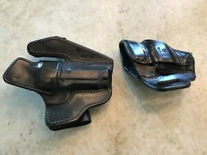 Milt Sparks VMII and 55BN for Wilson Combat EDCX9-left hand WITH MAG CARRIER