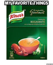 Knorr Cream of Lobster Gourmet Soup Mix with Fennel & Coriander: 1 ltr pack