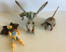 Takara Beast Wars Lot of 3-Incomplete-Rat Trap/Prowl/Silverbolt