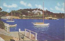 Postcard Fairylands Bay Bermuda