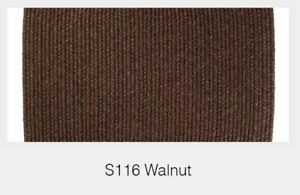 Solid Walnut 100% Wool New England Country Home Classic High Quality Braided Rug