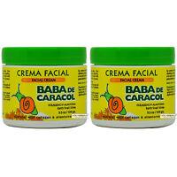 """Baba De Caracol Earth Snail Slime Facial Cream 3.5 Oz. Crema Facial """"Pack of 2"""""""