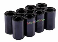 8 pcs battery Adaptor Converter Case 2A AA to C Size Battery