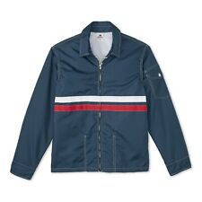 NEW Birdwell Beach Britches Mens Competition Jacket Navy Red Stripe XL