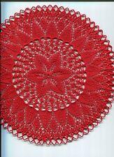Deko Decke Deckchen Strickdeckchen Kunststricken stricken Handarbeit Dekoration
