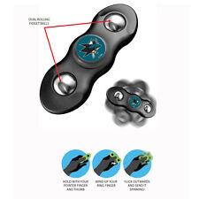 New NHL San Jose Sharks 2 in 1 Flik Fidget Hand Spinner & Rolling Balls
