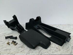 BMW E36 3 Series Black MSport Leather Centre Console Armrest Unit w/ Bolts COUPE