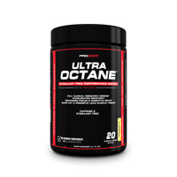 ULTRA OCTANE - Clinically Dosed Stimulant/Caffeine Free Pre Workout - Lemon Lime