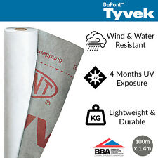 Tyvek House Wrap | Breather Membrane | 1.4m x 100m