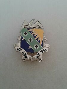 Authentic US Army Air Corps 4th Campsite Group Unit DI DUI Crest Insignia