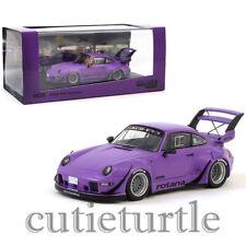 Tarmac Works Porsche 993 RWB Rauh Welt Begriff Rotana 1:43 Purple T43-014-RO