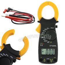 Digital AC DC Electronic Tester Clamp Volt Meter Multimeter Current Resistance