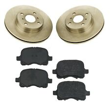 For Chevrolet Prizm Toyota Corola 97-02 Pads & Rotors Front