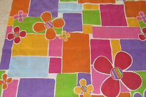 Vintage Dan River Standard Flower Pillowcase Sham Colorful