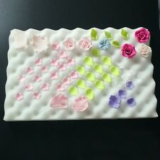 2x Foam Pad Dry Shaping Sponge Mat Cake Fondant Sugar Flower Decor Kitchen Tools