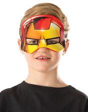Iron Man Plush Eyemask, Kids Avengers Costume Accessory