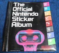 1988 The Official Nintendo Sticker Album NES era Imperial Toy Corporation RARE