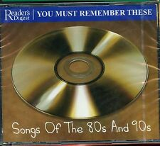 Readers Digest - You Must Remember These / Songs Of The 80s & 90s - New & Sealed