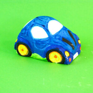 Car or Fairy Princess Plaster of Paris/Candle Latex Rubber Mould Children Craft
