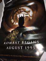 Mortal Kombat 1995 27x40 Orig Movie Poster FFF-70750 Rolled Christopher Lambert