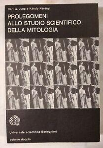 PROLEGOMENI ALLO STUDIO SCIENTIFICO DELLA MITOLOGIA di Jung Kerenyi Boringhieri