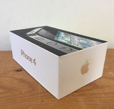 Apple iPhone 4 Empty Retail Box ONLY Black 16GB A1332 for AT&T Tips Stickers