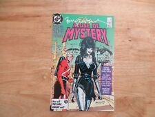 1986 DC ELVIRA'S HOUSE OF MYSTERY # 7  SIGNED BILL SIENKIEWICZ ART, WITH POA