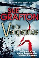 SUE GRAFTON __ V IS FOR VENGEANCE _____ BRAND NEW ___ UK FREEPOST