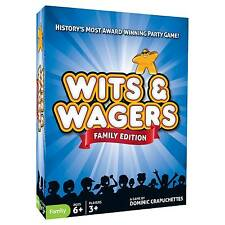 Wits & Wagers Family Edition From Mr Toys