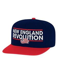 Licensed New England Revolution Adidas MLS Soccer Adjustable Hat Jersey __B34