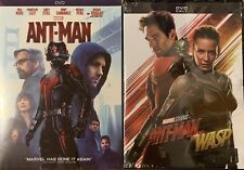 Marvel's: Ant-Man / Ant-Man and the Wasp - 2 DVDs (Free USPS Shipping)